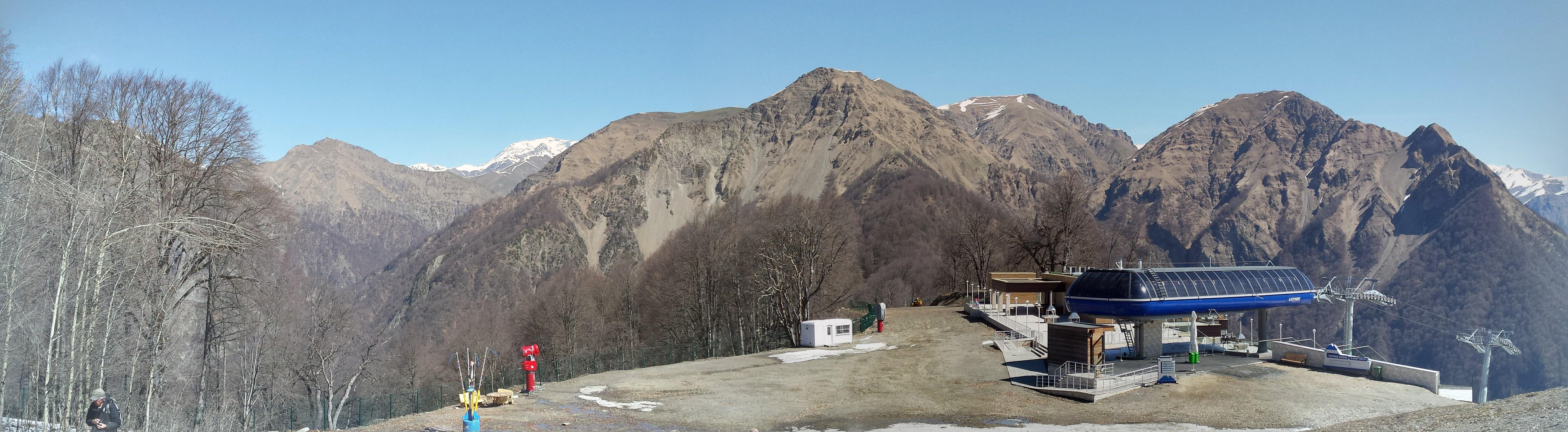 Laza aan de zuidzijde van de Hoge Kaukasus