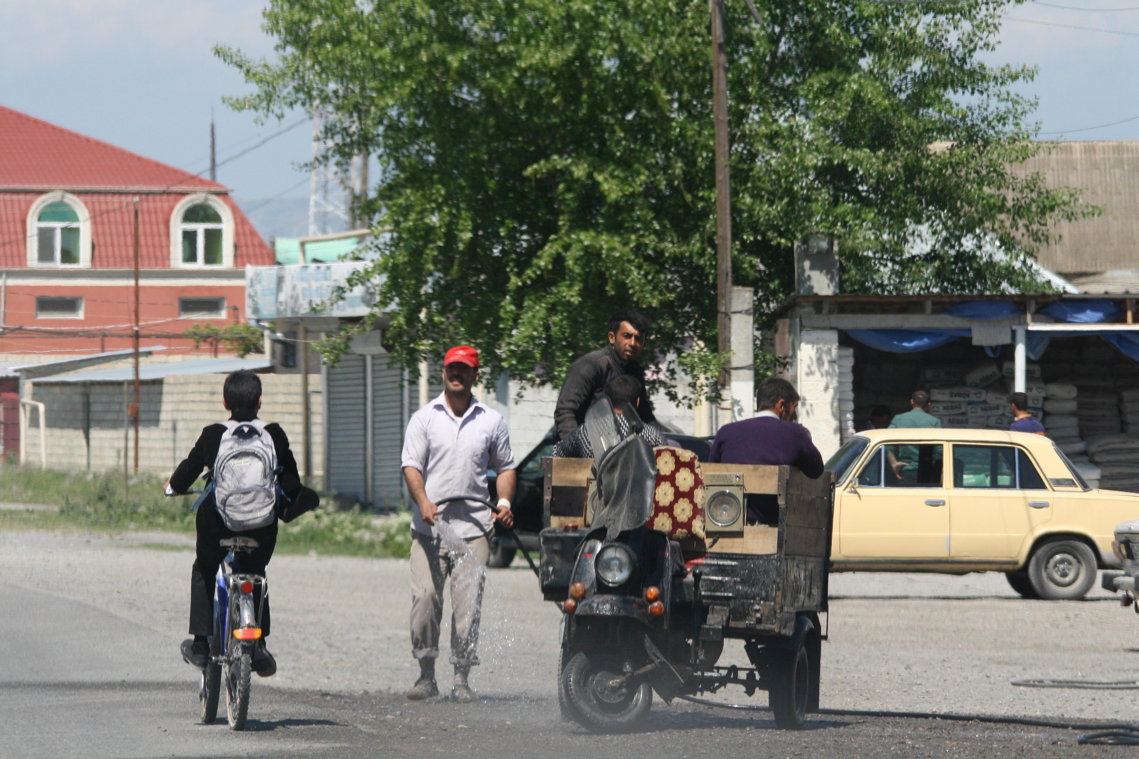 Typisch straatbeeld