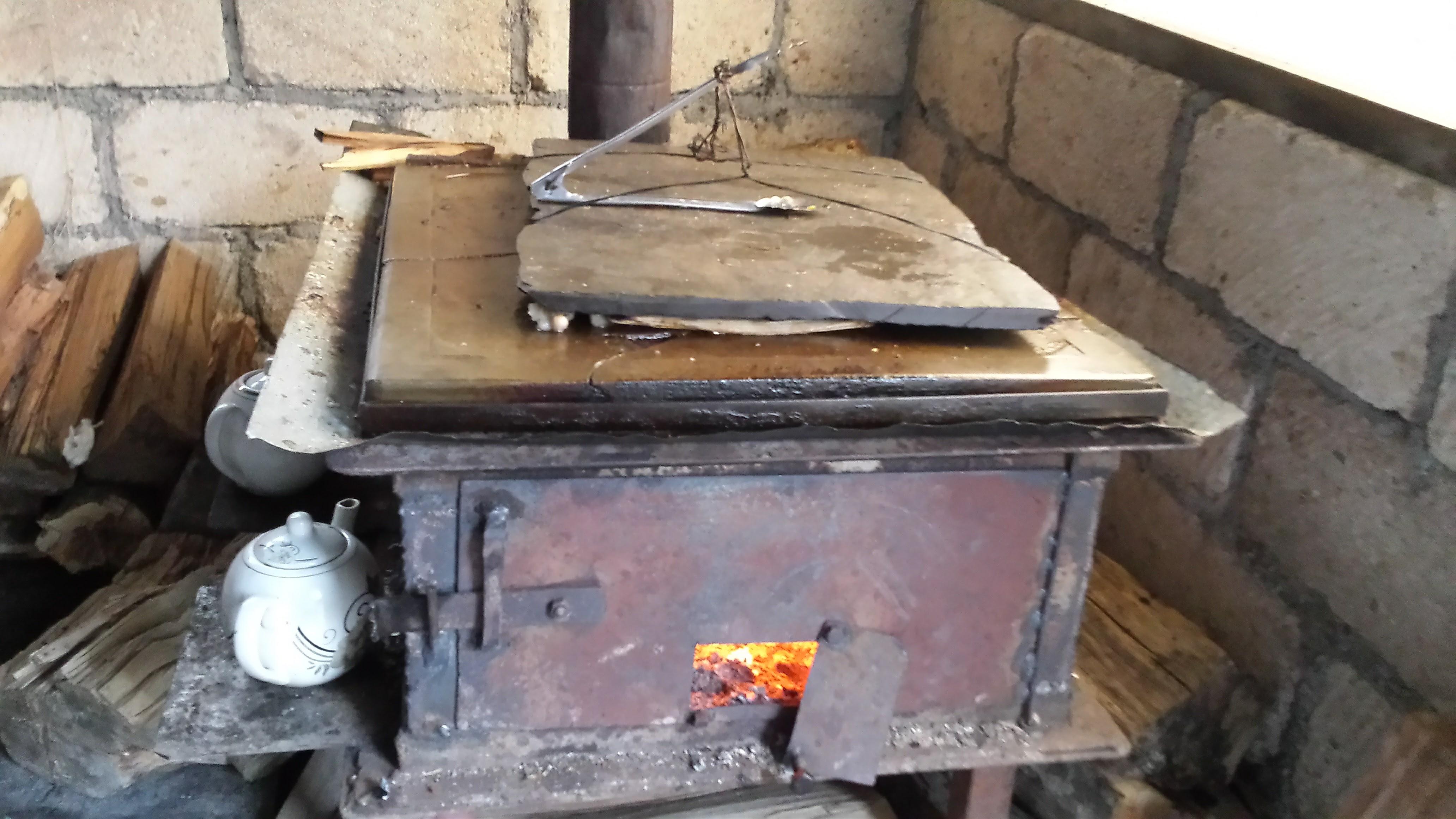 Authentieke kookstellen alom aanwezig