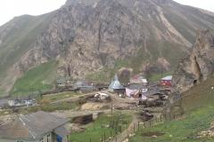Laza aan de noordzijde van de Hoge Kaukasus)