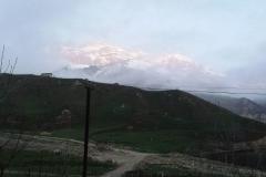 Laza aan de noordzijde van de Hoge Kaukasus