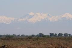 Vergezicht op de Hoge Kaukasus