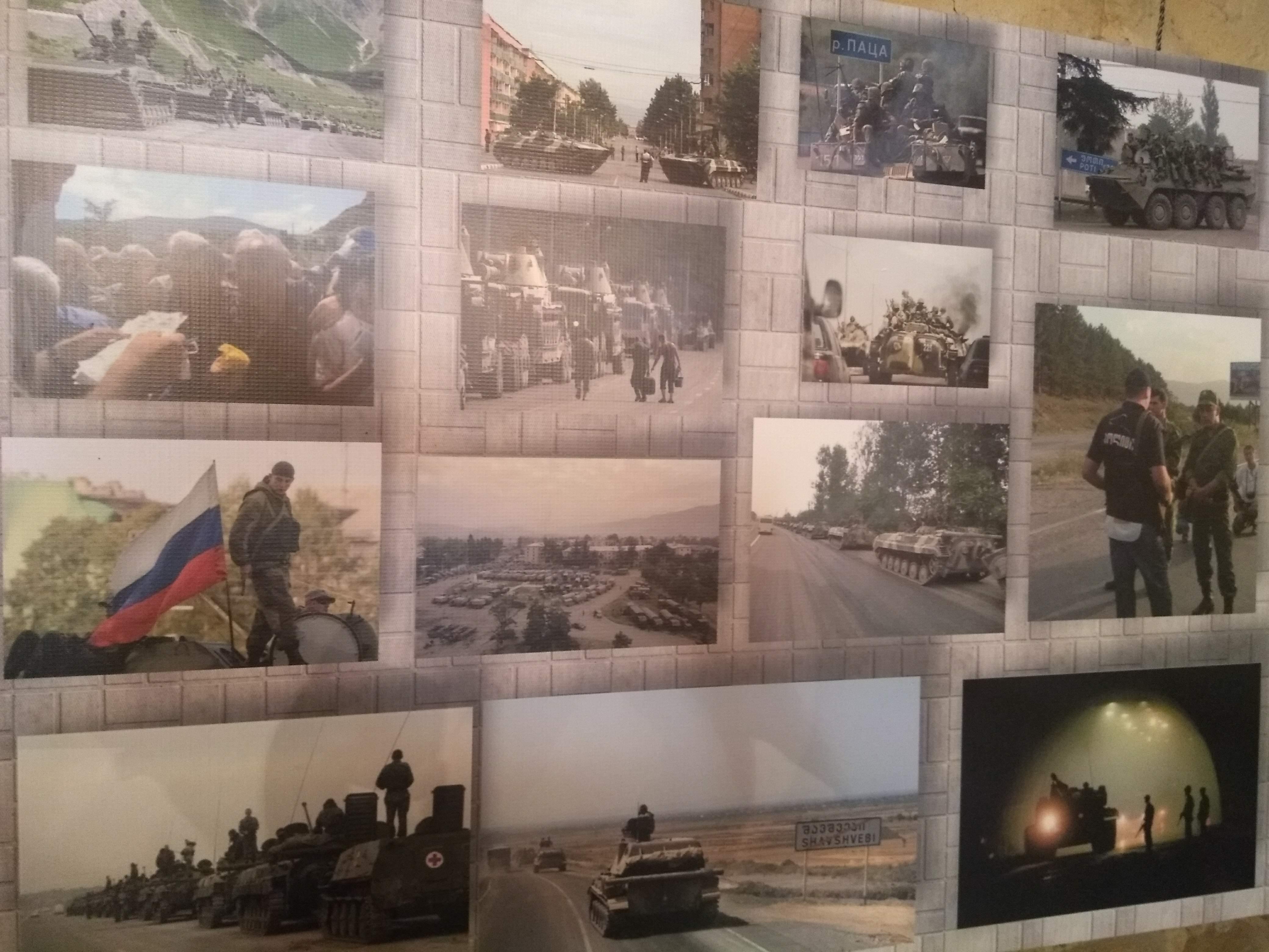 Oorlogsmuseum op grens met zuid-Ossetie