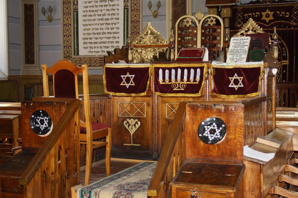 De oude synagoge in het centrum van Tbilisi
