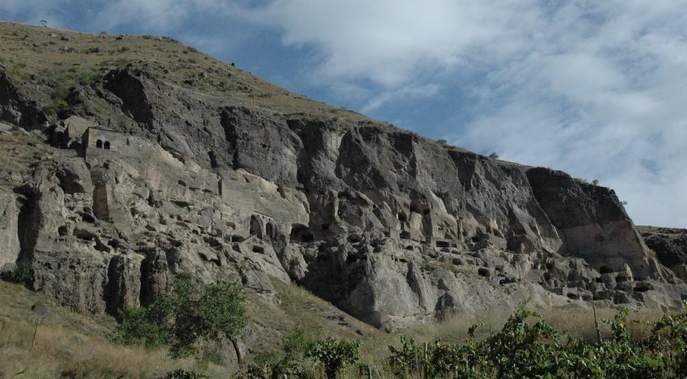 Vardzia, het beroemde grottendorp