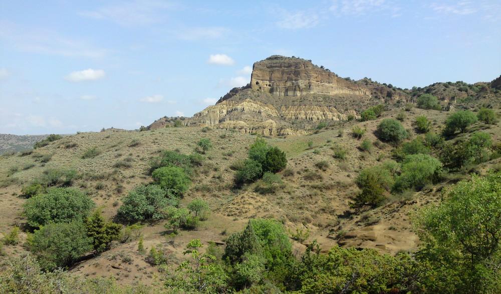 Nationaal park Vashlovani in het zuidoosten