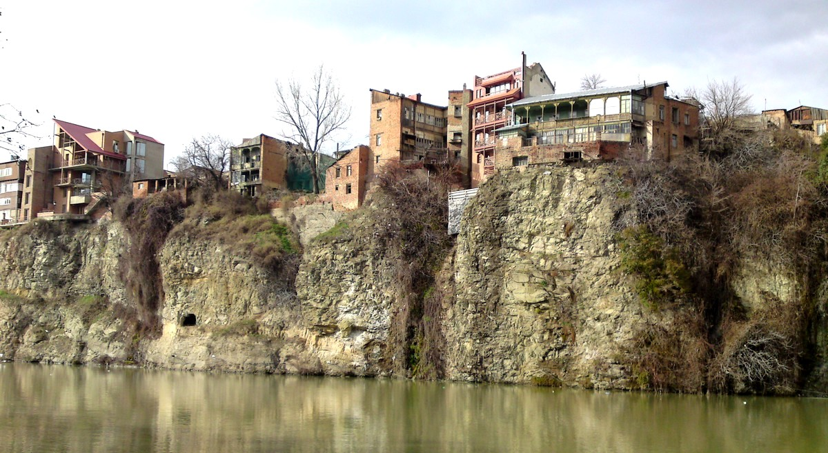 Het oude Tbilisi