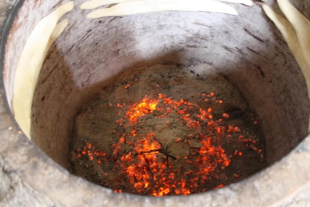 Traditionele wijze van broodbakken