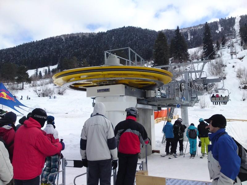 Moderne skigebieden in Svanetie