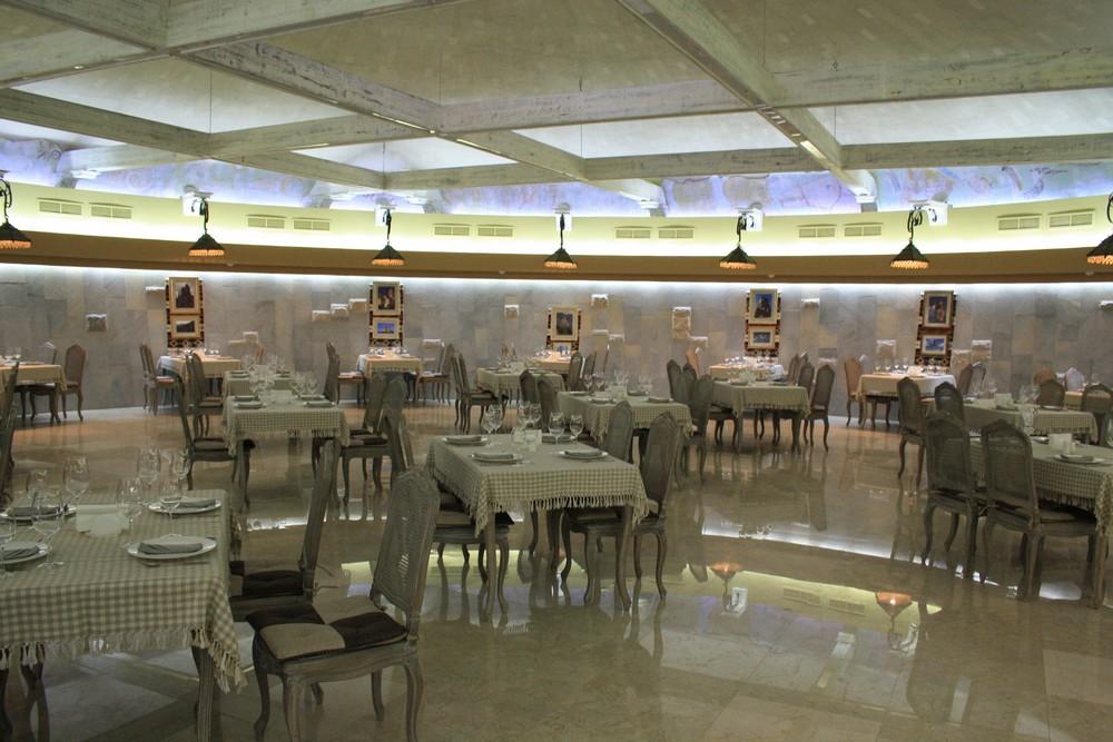 Modern restaurant in de wijnstreek Kachetie