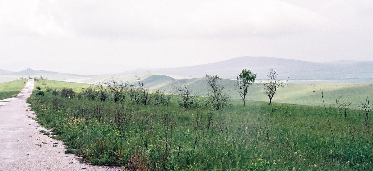 Akkergebieden in het zuidoosten van het land