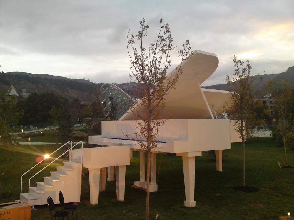Moderne kunst in Tbilisi