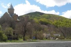 De kerk van Ananuri