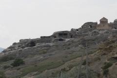 Het grottendorp Uplistsikhe, bij Gori