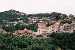 Signaghi, de fraai gerestaureerde stad in het westen