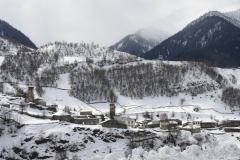 Svanetie in de winter