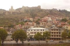 Het oude centrum van Tbilisi