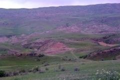 Uitgestrekte vlaktes in het zuidoosten