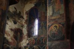 Prachtige oude fresco's uit de 11e eeuw