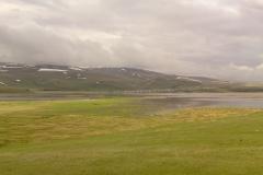 Stille bergmeren op hoogvlaktes