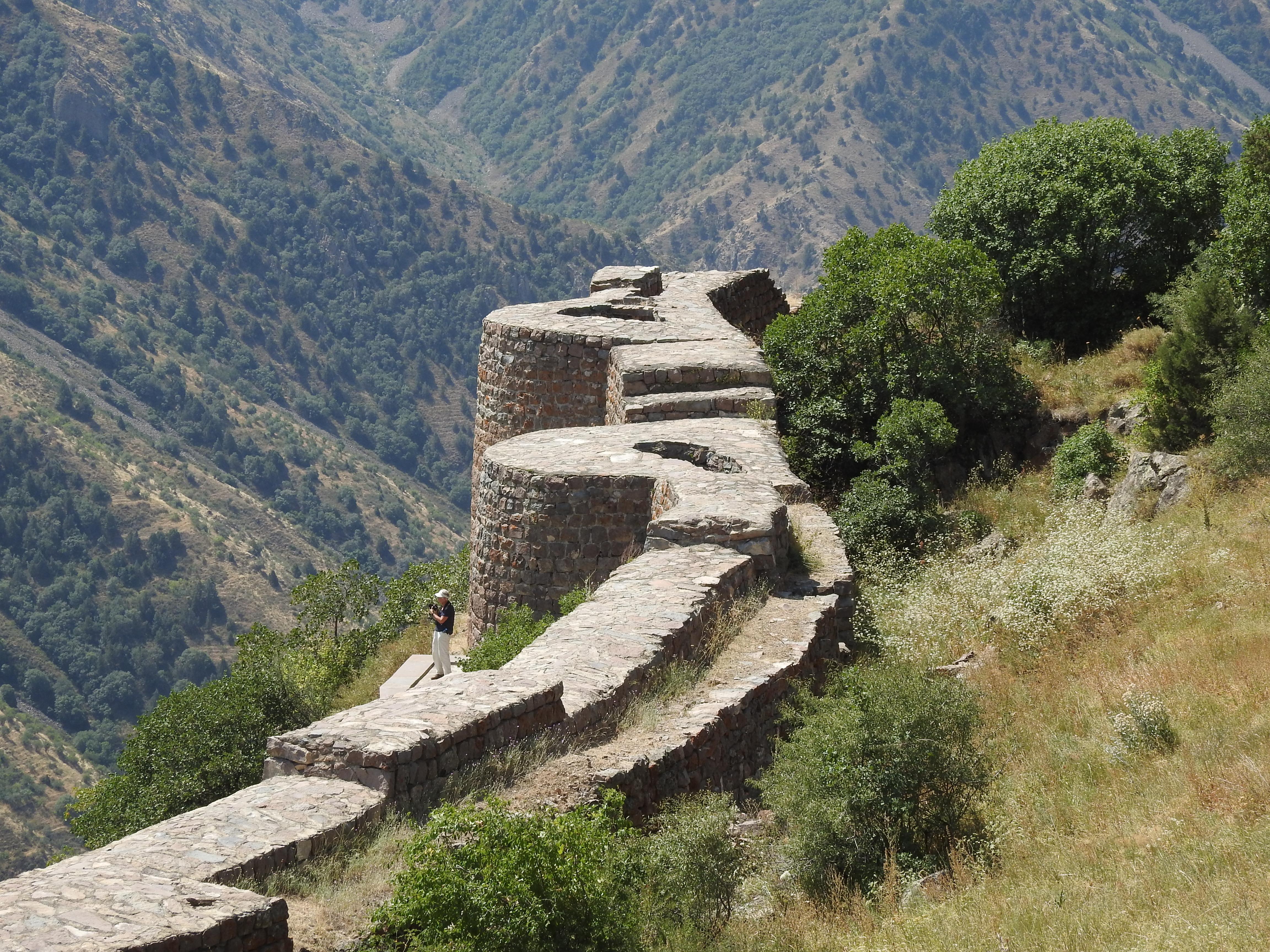 Smataberd Armenië (foto C. Snik)