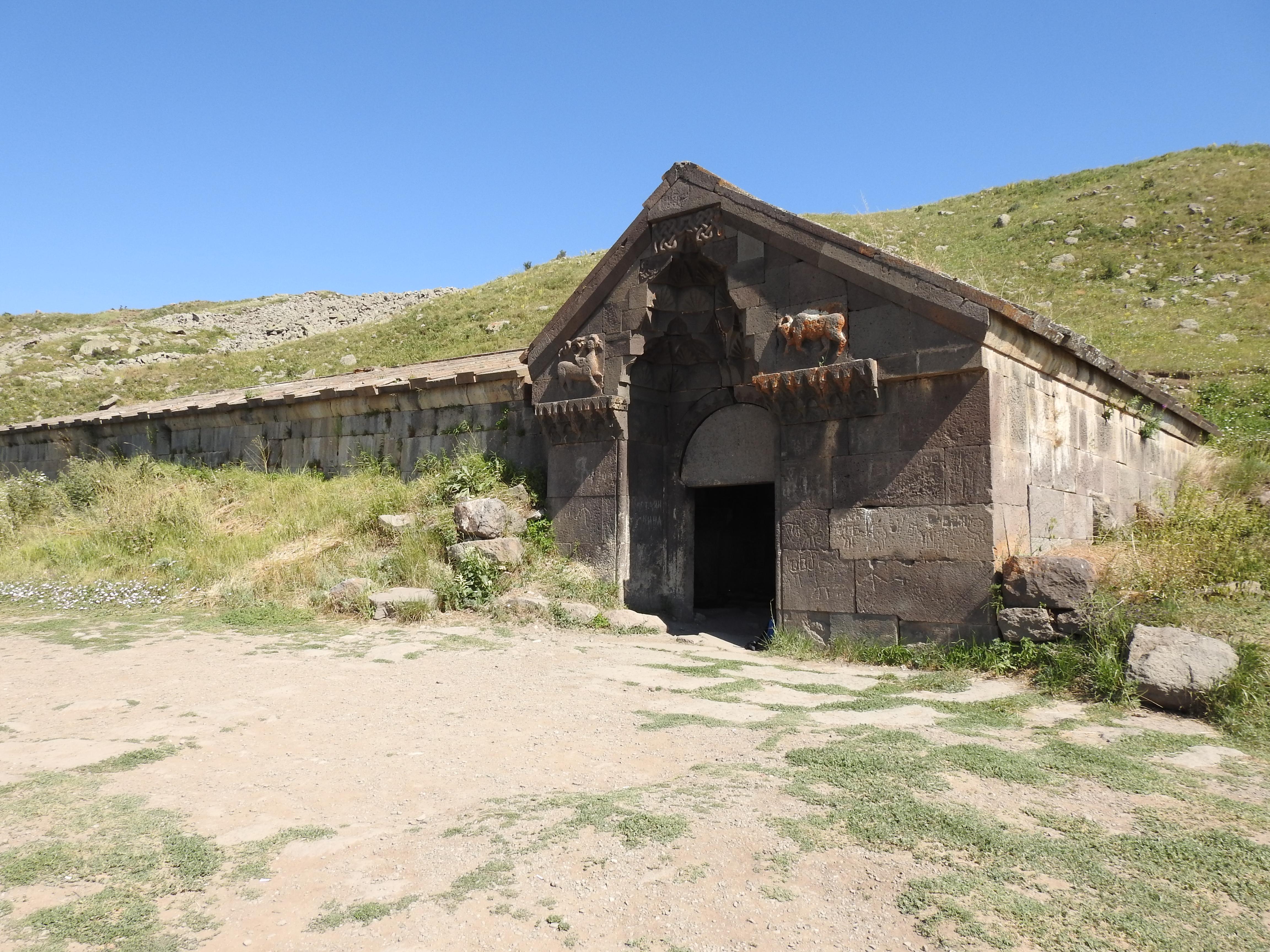 Karavanserai Selimpas Armenië (foto C. Snik)